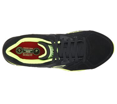 Work Relaxed Fit: Synergy - Ekron Alloy Toe, BLACK/LIME, large image number 1