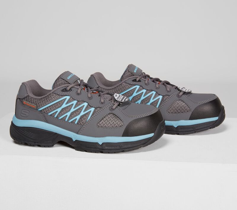 Work Relaxed Fit: Conroe - Kriel ESD, GRAY/BLUE, largeimage number 0