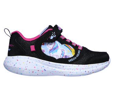 Skech Yours: Skechers GOrun Fast - Miss Crafty, BLACK, large image number 4