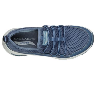 Skechers Arch Fit - Lucky Thoughts, NAVY, large image number 2