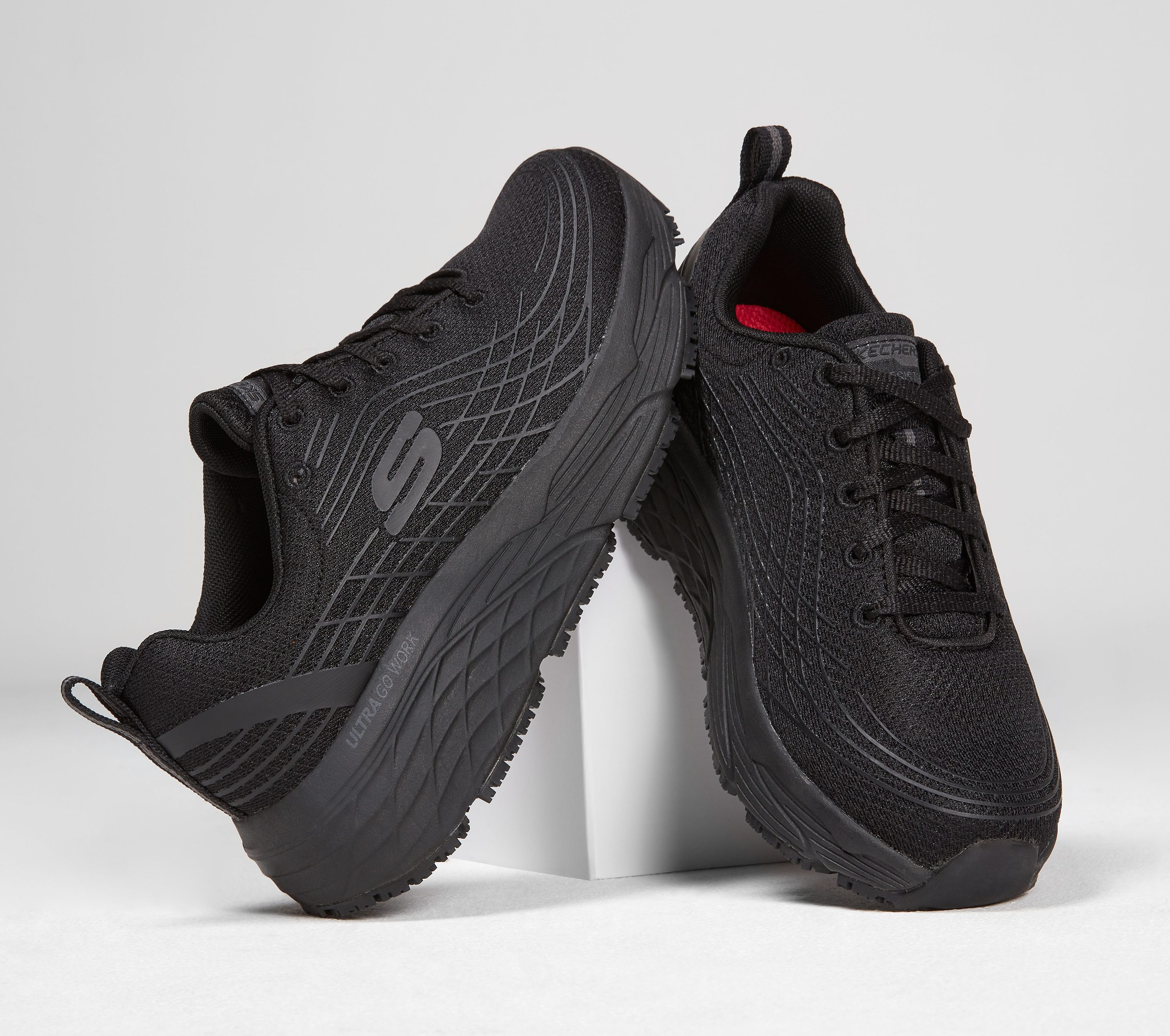 most comfortable skechers for work off